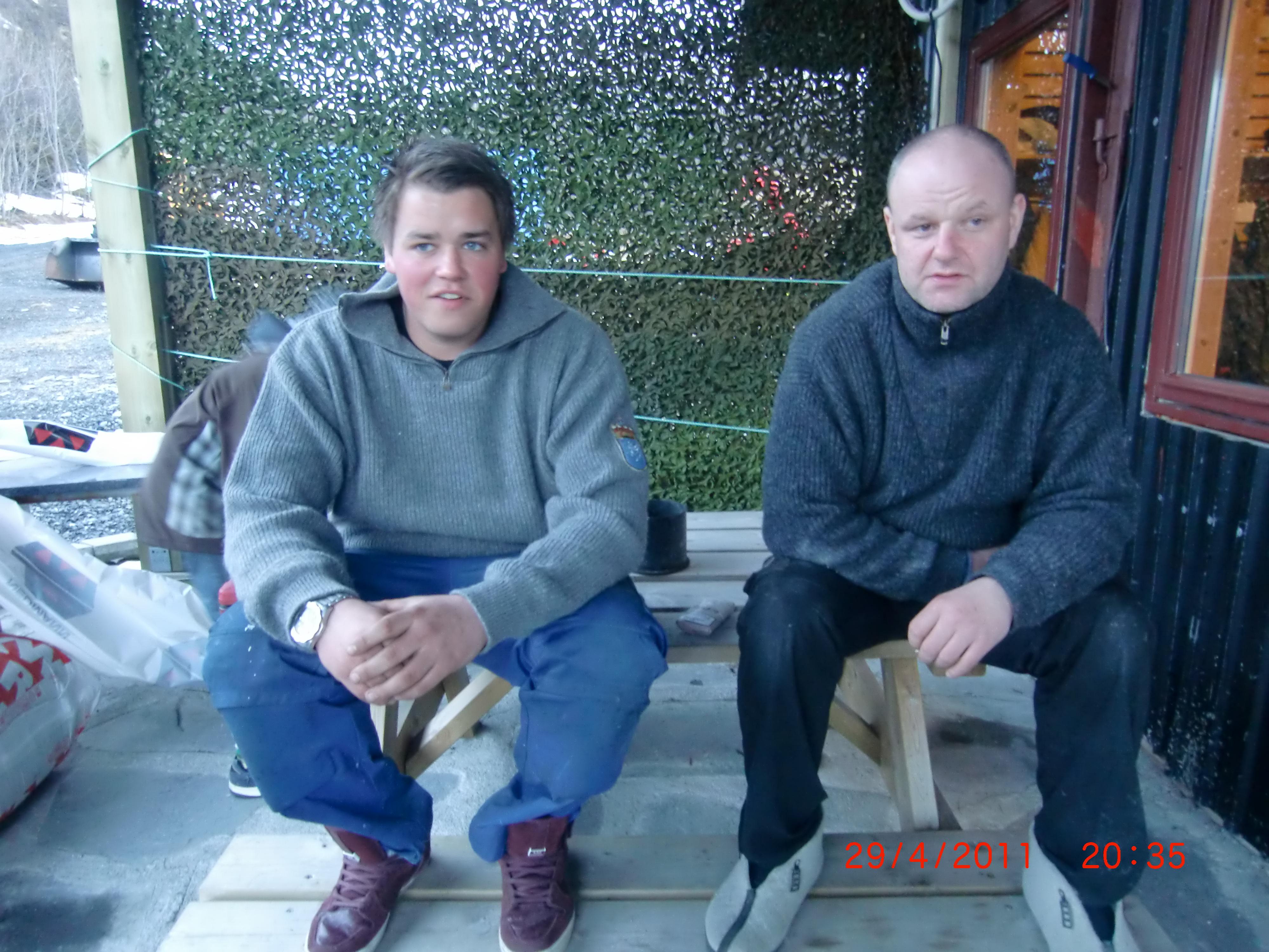 Lars og Jan Helge